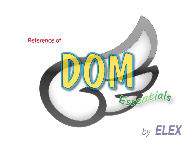 Reference of DOM Essentials